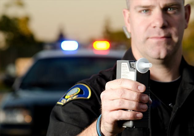 Police Breathalyzer Test