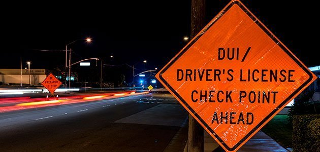 Tips for DUI Checkpoint Behavior
