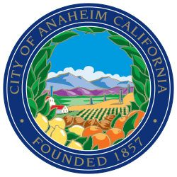 The Seal of Anaheim California